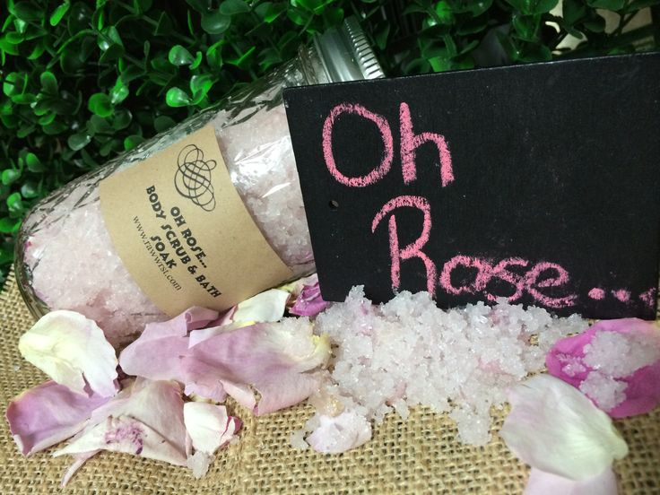 Rawwr St - Oh Rose… Body Scrub & Bath Soak Floral, fresh, fruity & all things elegant, Oh Rose…can be used as a body scrub or for a much deserved bath soak. The gorgeous blend of Rose Geranium essential oil & Ylang Ylang essential oil is just what you need. Rose Geranium known for its benefits for mature skin, eczema & stress relief properties. Ylang Ylang essential oil will help release a build up of anxiety & stress & blends perfectly with the feminine scent of Rose.