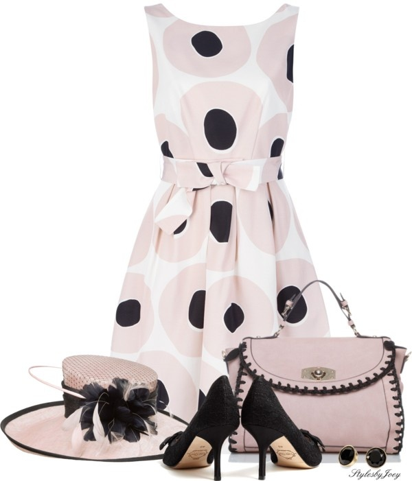 """""""Derby n Dots"""" by stylesbyjoey on Polyvore"""
