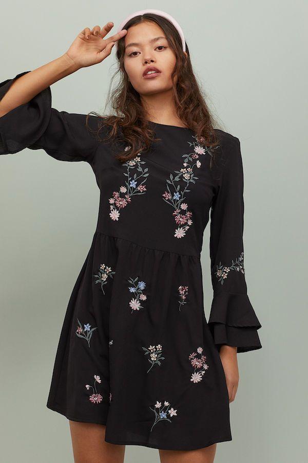 Necesitar Diagnosticar tranquilo  Vestidos de H&M Otoño Invierno 2020 - Moda en Pasarela   Vestidos de otoño,  Vestidos de invierno, Estilo casual mujer