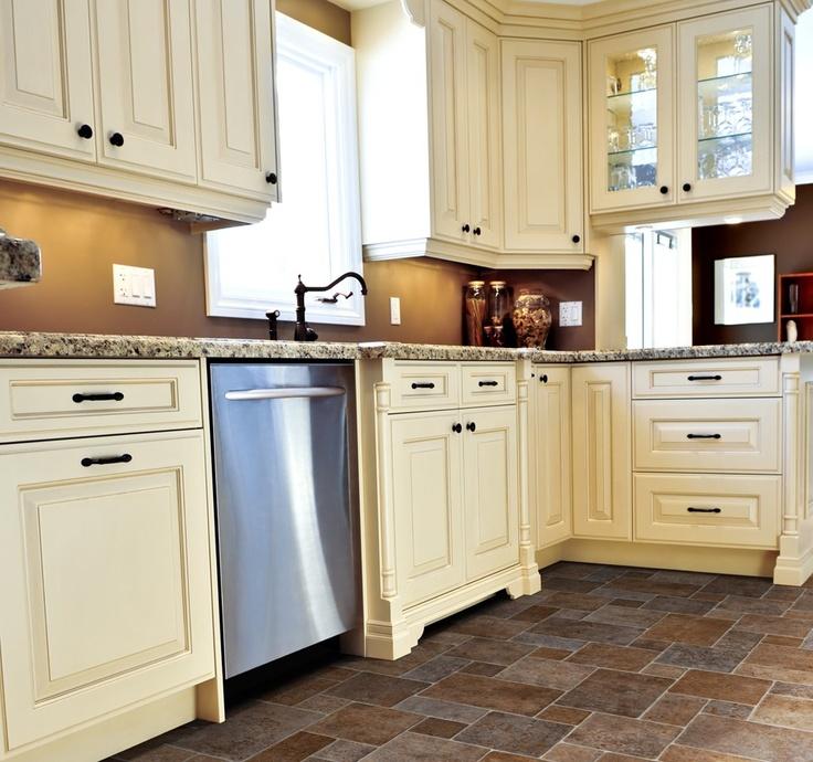 Antique White Kitchen Cabinets Pictures: 35 Best IVC Flexitec Sheet Vinyl Images On Pinterest