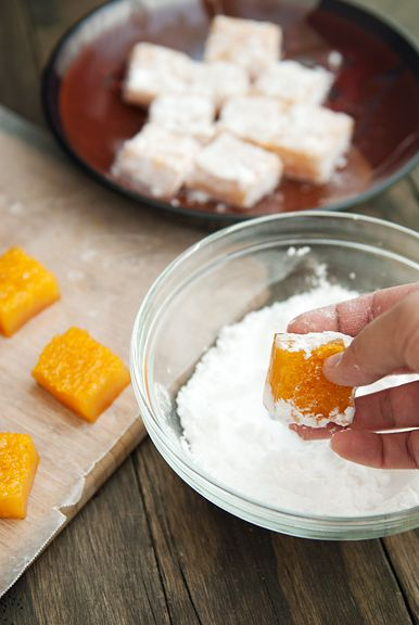 passion fruit mochi recipe | use real butter
