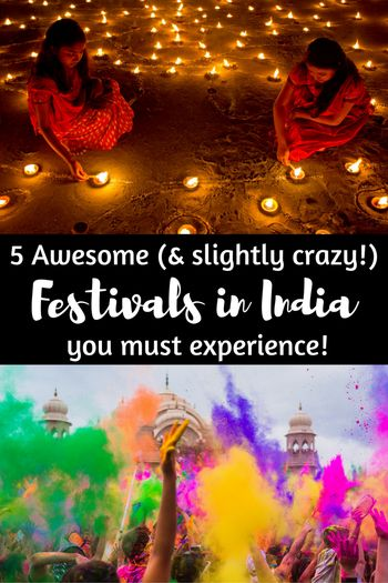 Experiencing one of India's crazy, colourful festivals is a great way to immerse yourself in the rich culture, vibrant spirituality and crazy celebrations that India is famous for. There are so many festivals in India that sometimes it feels like there's a celebration on every day but are 5 of the best festivals in India that are worth planning your trip around.
