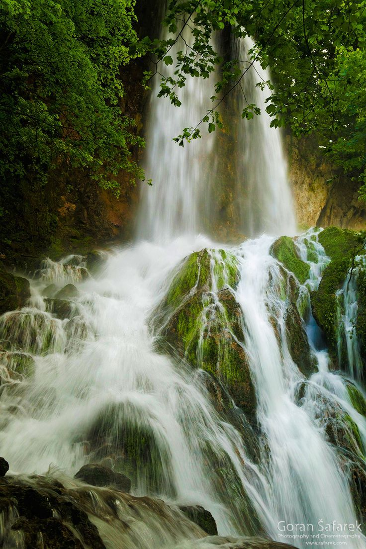 Papuk A Geo Park With A Magnificent Waterfall Waterfall Photography Waterfall Photo Waterfall Wallpaper