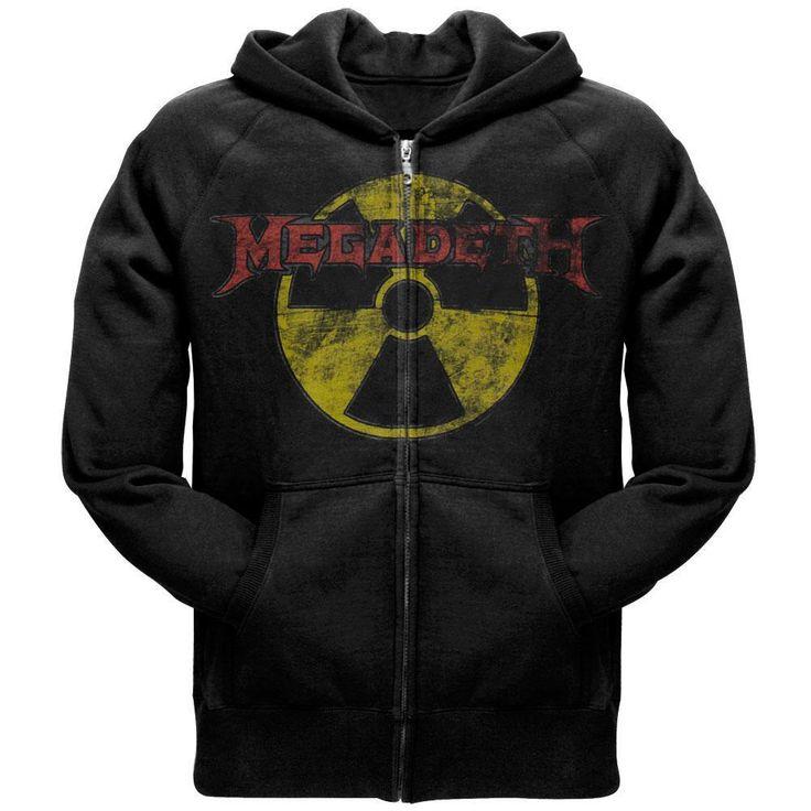 Megadeth - Logo Zip Hoodie