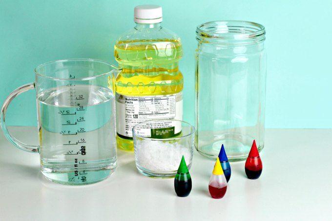 Salt Volcano Groovy Liquid Density Science Experiment Science Experiments Kids Preschool Volcano Science Experiment Science Experiments For Preschoolers