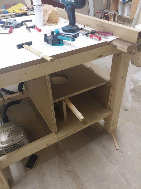 Table for Circular Saw - 55$
