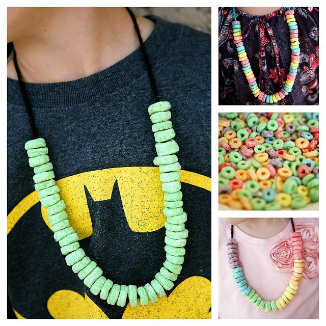 eighteen25: St. Patrick's Day Craft & Snack Necklaces