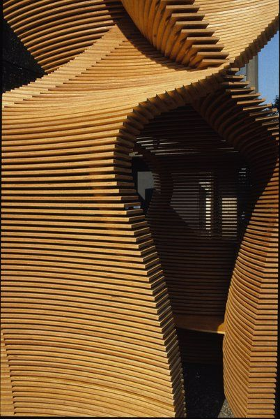 Thomas Heatherwick gazebo...isn't it great?