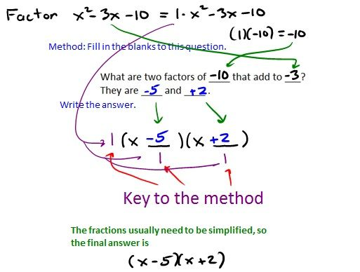 56 best images about math factoring on pinterest student the box and math. Black Bedroom Furniture Sets. Home Design Ideas