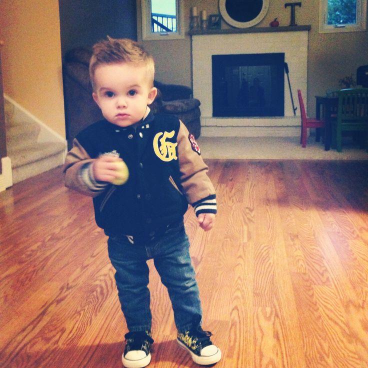 Baby boy swag. Cutest lil guy ever