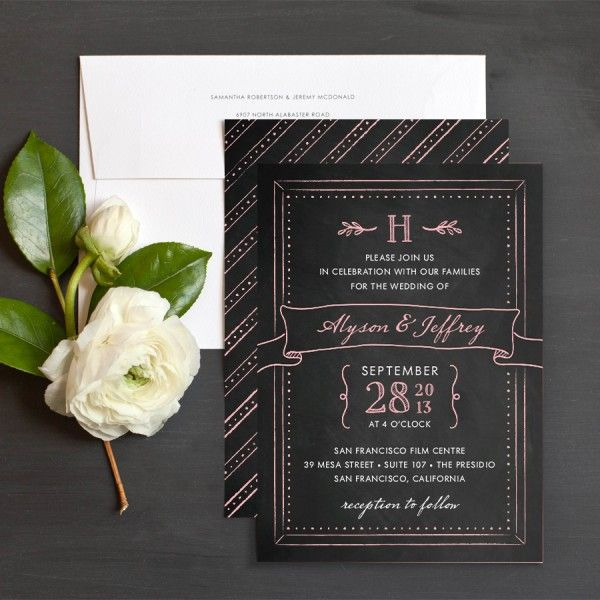 Best Paper Things Images On   Stationery Marriage