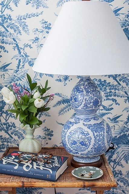 Chinoiserie Chic: Trending   The Big Chinoiserie Lamp