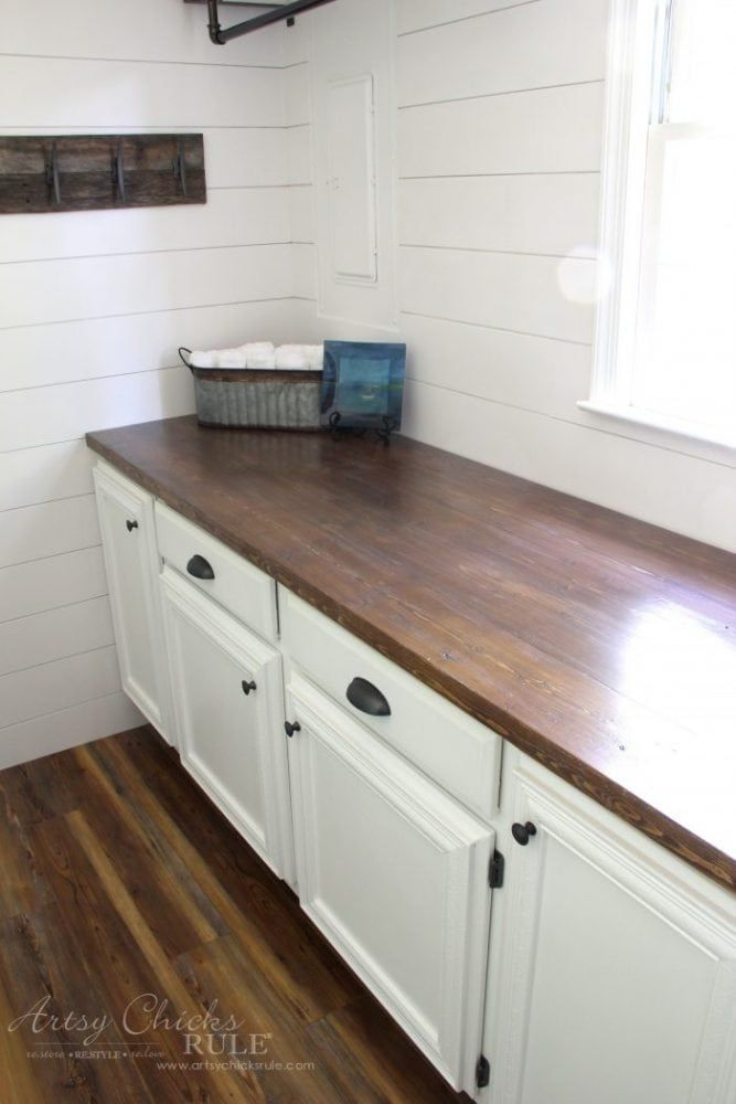 11 Amazing Diy Countertops You Have To See Diy Wood Countertops