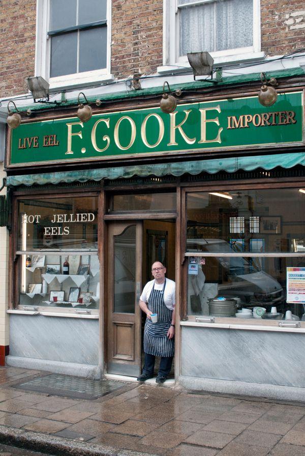 F. Cooke Pie and Mash shop Brick Lane