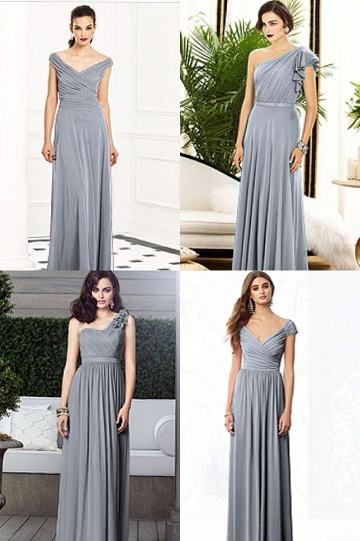 Dove grey wedding gowns best wedding dress 2017 35 subtle dove grey wedding ideas weddingomania ombrellifo Choice Image