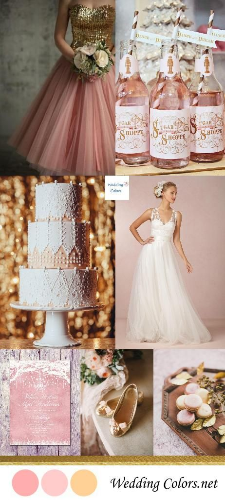 {Ballerina Blush & Gold} Winter Wedding Inspiration