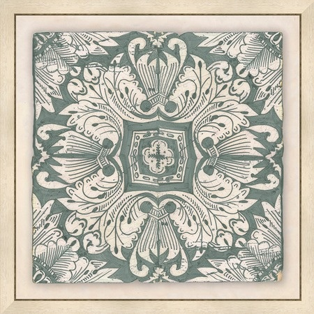 i pinned this delft tile framed wall art i in aqua from. Black Bedroom Furniture Sets. Home Design Ideas
