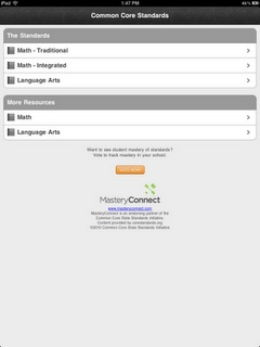 """Common Core APP by Mastery Connect review from """"Crazy Speech World"""". Just what you want! Pinned by SOS Inc. Resources @sostherapy."""