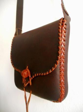 Bolso de cuero - artesanum com