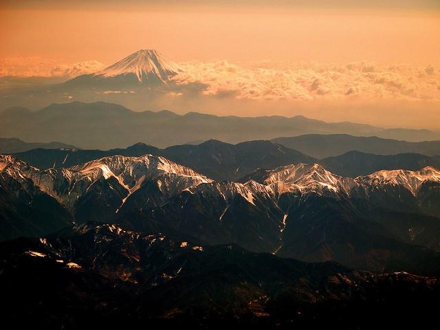 Minami Alps & Fuji san by Jose Rentería Cobos, via Flickr