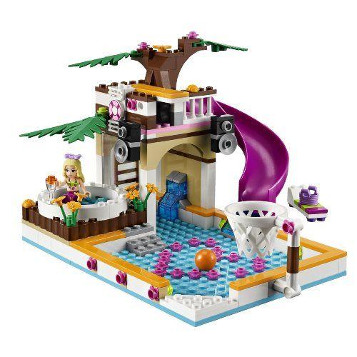 LEGO Friends Heartlake City Pool 41008 | Gift Lists and Ideas | Pinte ...