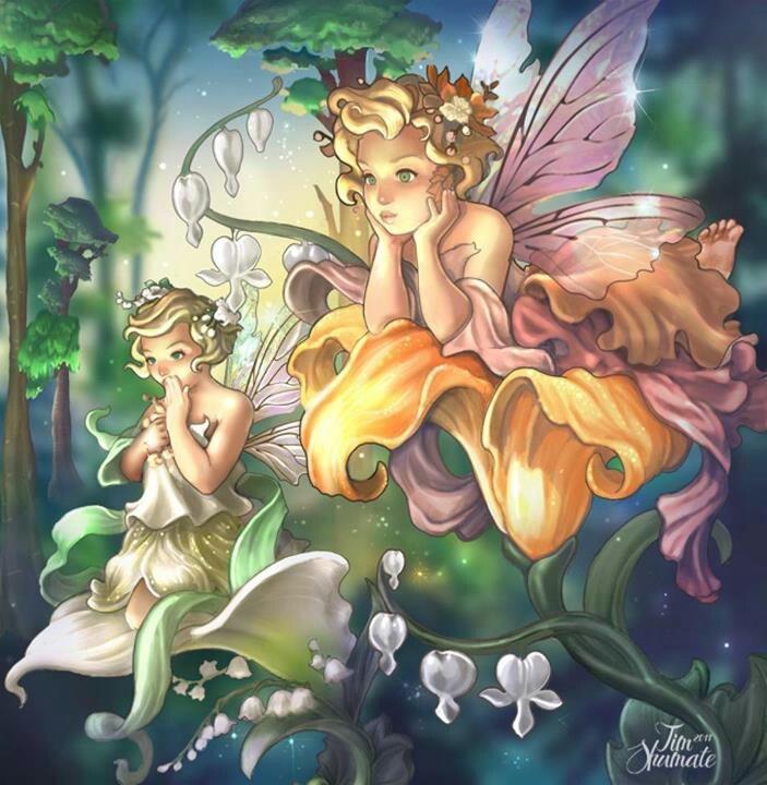 Fairies and mythological animal's