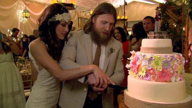 Brie Bella Wedding Photos