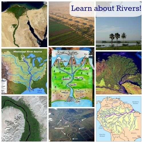 #sschat Resources to Learn about Rivers: with a Global Twist. World rivers, vocabulary, on-line games, photos, videos.