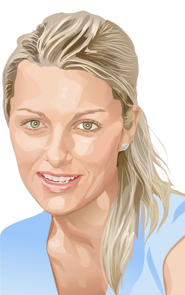 Vector Portrait 6 by hazeljane on deviantART