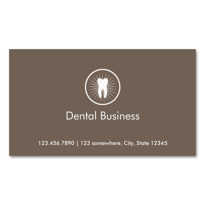 Simple Tooth Icon Dental Appointment Business Card. This is a fully customizable business card and available on several paper types for your needs. You can upload your own image or use the image as is. Just click this template to get started!