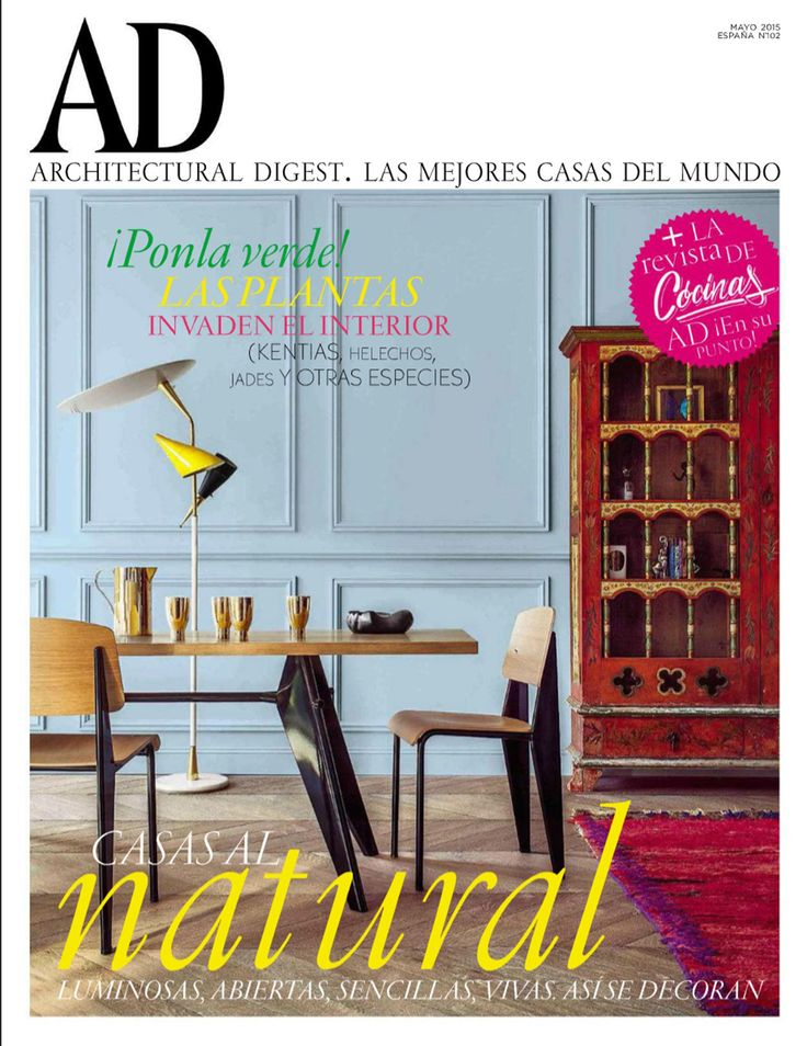 Park Street Kitchen In Architectural Digest Espana 070515 Fionalynch Interiordesign