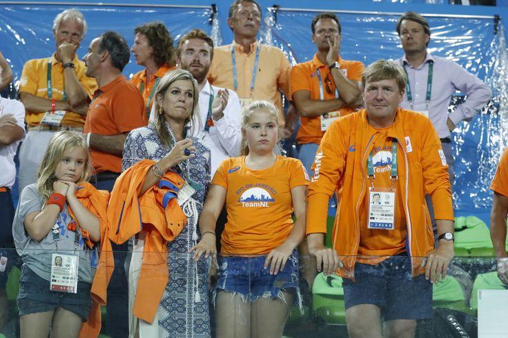 Rio 2016 The royal family grieve along with the Dutch hockeysters. Photo: René Bouwman
