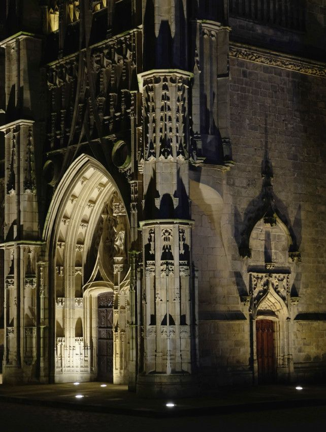 Limoges by Night  -  Limousin  -  France by Michel Carlué