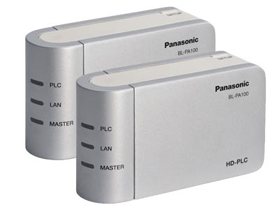 Panasonic BL-PA100KTA - High Definition Power Line Communication Ethernet Adapter - 2 Pack - Overview