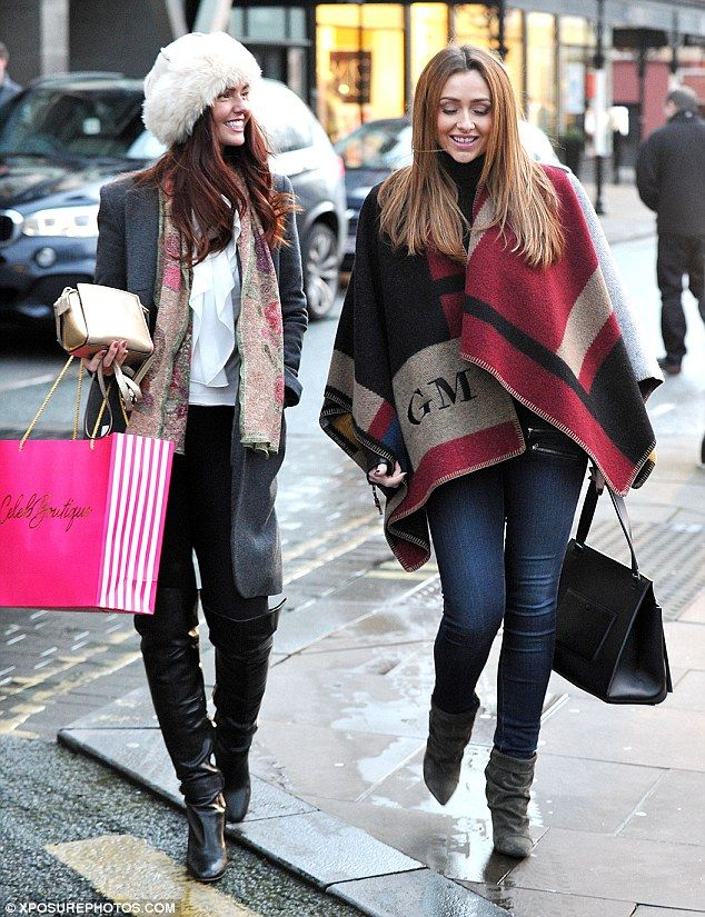 She's in fashion! Former Hollyoaks actress Gemma Merna rocked a £1,095 Burberry monogram b...