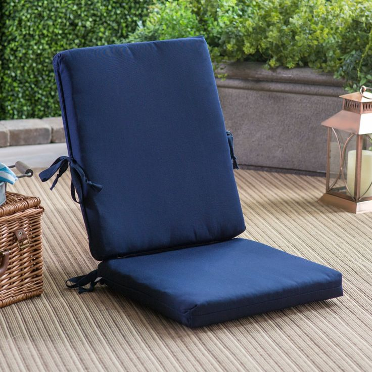 POLYWOOD® Sunbrella 36.25 x 17.25 in. Hinged Bar Stool Cushion - XPWF0030-5401