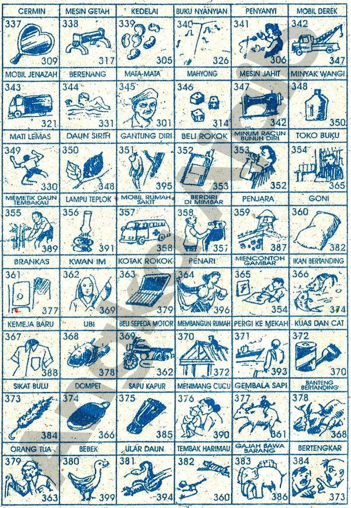 ♖ Buku mimpi 3d bergambar togel