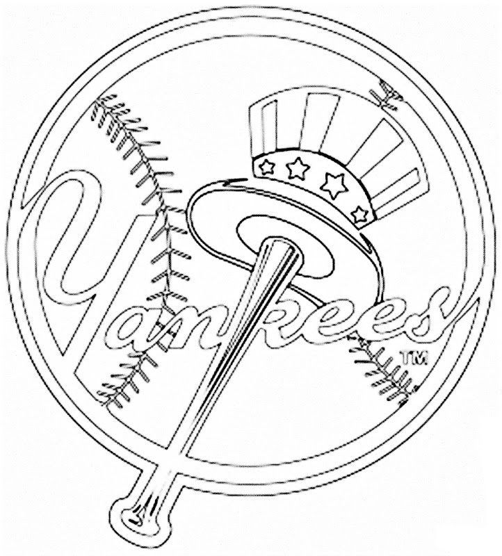 Yankees Baseball Coloring Pages Baseball Coloring Pages Coloring Pages New York Yankees