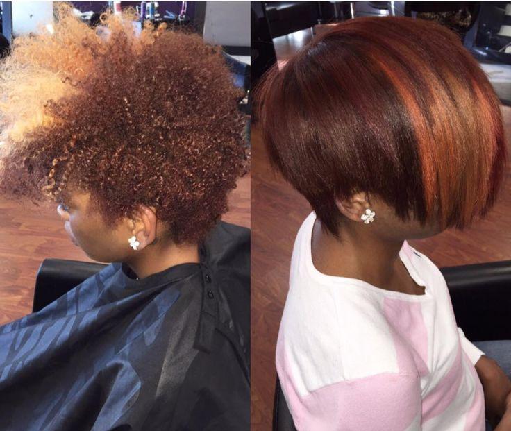 Nice Silk Press Via Msklarie Black Hair Information