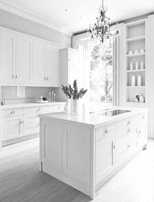 White Wood Kitchen Cabinets Design Beauteous Pin By Soccergirl On R O O M S D E C O R Kitchen 4109 4