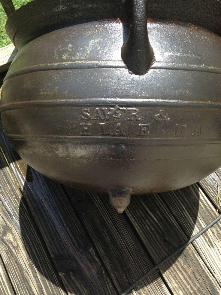 97 best images about cast iron wash pots on pinterest stove cast iron pot and tripod. Black Bedroom Furniture Sets. Home Design Ideas