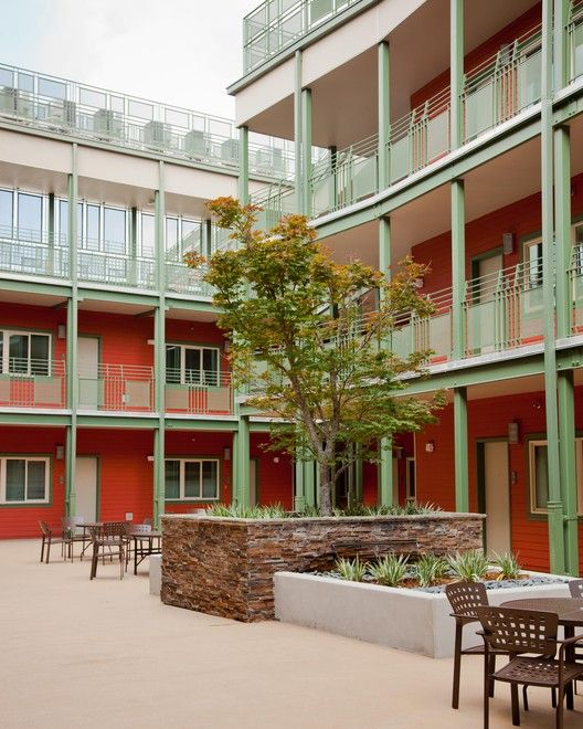 6 Extraordinary Public-Interest Design Projects Honored with SEED Awards,The Rosa F. Keller Building, a 2013 SEED Award Winner, is a housing complex in New Orleans which integrates formerly homeless and low-income residents in a safe environment. Photo courtesy of the Rosa F. Keller Building.