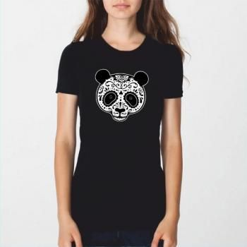 T-shirt Senhora/Lady Dead Panda Girl