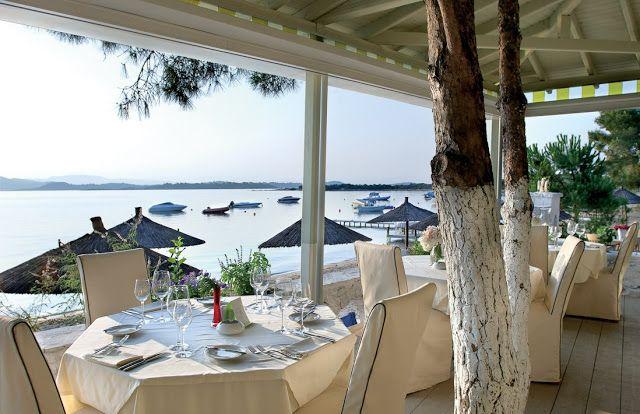 An eco-philosophy resort in Halkidiki, Greece