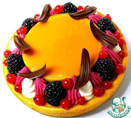 Фруктово-ягодный тарт - кулинарный рецепт