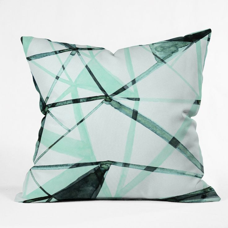 CayenaBlanca Urban Glass Outdoor Throw Pillow | DENY Designs Home Accessories