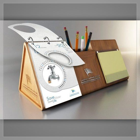 Creative table calendar design printing calendars for Creative design table