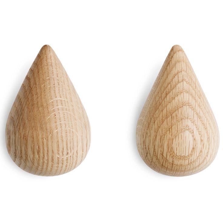 normann copenhagen dropit knagg 2pk natur stor | Ting