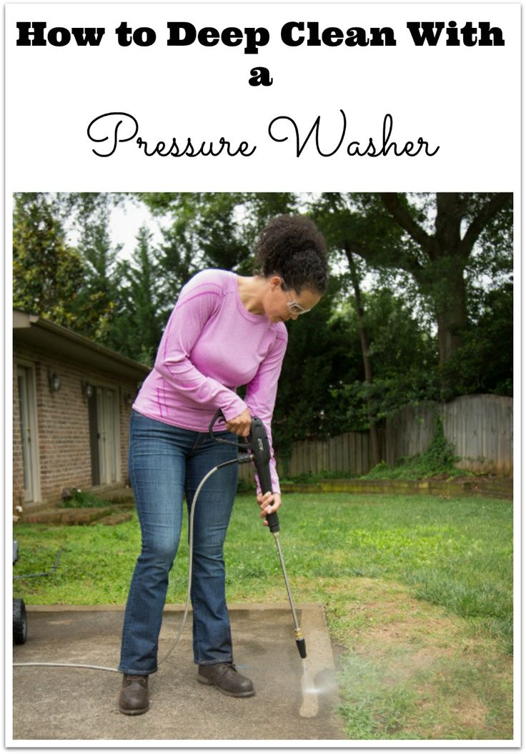 How to Deep Clean With a Pressure Washer