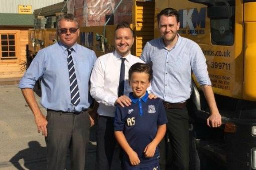 MKM Chelmsford scores with sponsorship of local footballer